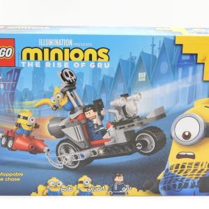 レゴ(LEGO) ミニオン ミニオンのバイクチェイス 75549