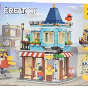 レゴ(LEGO) クリエイター タウンハウス おもちゃ屋さん 31105 これはおススメ!