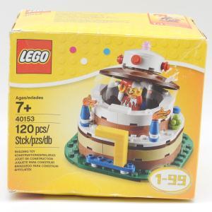 レゴで作るお誕生日ケーキ LEGO40153 デコレーション バースデーケーキセット