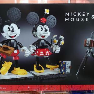 おススメ!大人のレゴ ディズニープリンセス ミッキーマウス & ミニーマウス43179完成!