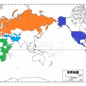 コロナでも行ける国を地図に色分けしてまとめました。 2020.11.28日版