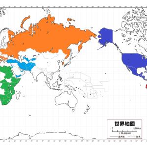 コロナでも行ける国を地図に色分けしてまとめました。 2021.2.27日版