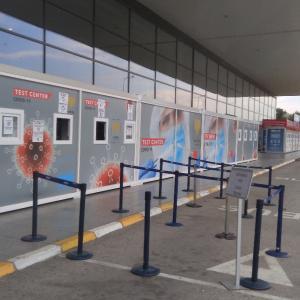 【マケドニア】スコピエ空港でPCR検査を受けました