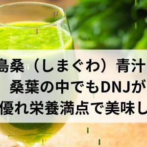 島桑青汁!桑葉の中でもDNJが1番優れ栄養満点で美味しい♪