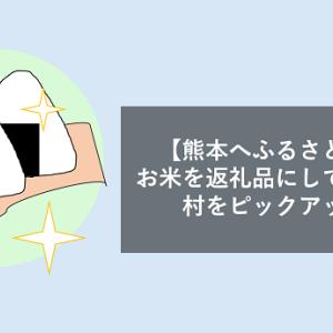 【熊本へふるさと納税】お米を返礼品にしている市町村をピックアップ!価格と㎏を添えて