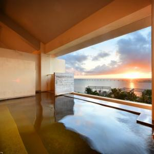 那覇で温泉に入って帰るならここ!瀬長島ホテル龍神の湯が最高
