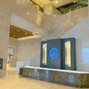 シェラトン都ホテル大阪にプチビジネストリップしてきました!宿泊体験談
