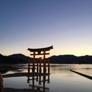 母娘の初めての2人旅は2019広島宮島だった