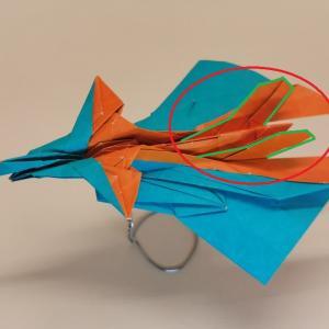 令和3年の1番目の折り紙飛行機C