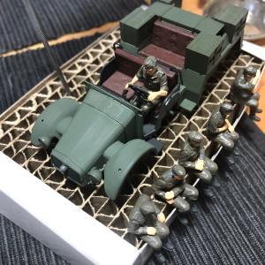 1/48 タミヤ ドイツ軍 Kfz.69作成 ③