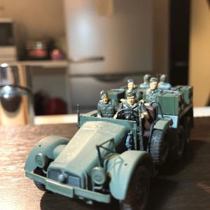 1/48 タミヤ ドイツ軍 Kfz.69作成 ④