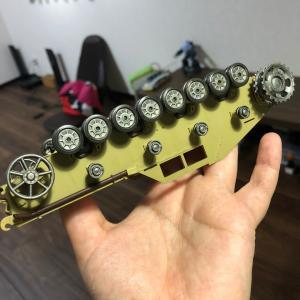 1/35 タミヤ ドイツ軍自走榴弾砲フンメル後期型作成 ③
