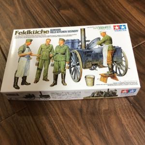 1/35 フィールドキッチン:野戦炊事セット製作①