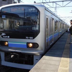 東京臨海高速鉄道70-000形 LED行先表示