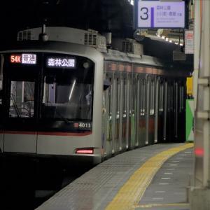 4111F 東上線初入線!