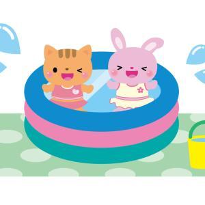 幼児に水遊びさせる時の注意点