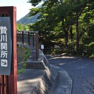 贄川宿   木曽路(中山道その1)
