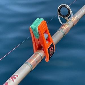 クラゲがラインに纏わり付くイライラを解消するアイテム。