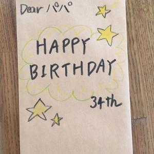 34歳夫の誕生日プレゼント