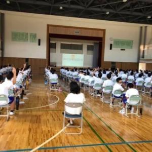 体験の感想 令和2年9月9日 鶴岡市立鶴岡第3中学校様 福祉学習