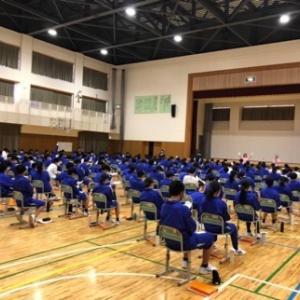 令和3年5月20日 鶴岡市立第3中学校様 1年生福祉学習2日目