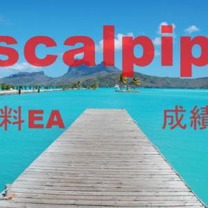 安定と利益と攻めの無料EA scalpip成績