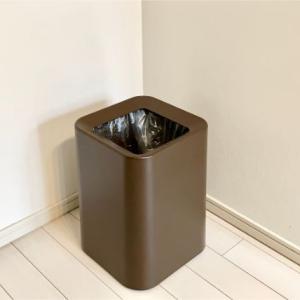 【ニトリ】袋が見えないゴミ箱で解決!ミニマリストのゴミ箱事情