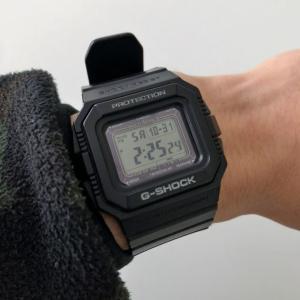 カシオG-SHOCK GW5500レビュー 無骨な形に機能美が光る、初代マッドレジストモデル