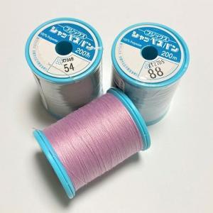 コロナの影響?ミシン糸がいまだに品薄です。ほんの少しなら色糸がない時は作ることもできますよ!