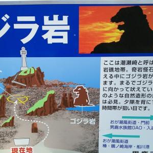 ゴジラ岩って知ってますか?