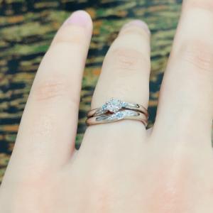 ディズニー限定!結婚指輪を嫁に。