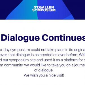 St. Gallen Symposiumの取り組みーDialogue Continues 対話は続くー