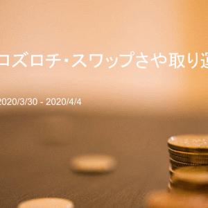 ユーロズロチ・スワップさや取り投資の運用実績をブログで公開 【運用71週目(2020年4月4日)】