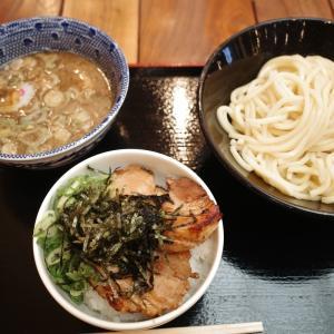 「頑者」つけ麺と炙りチャーシュー丼【 80 杯目 】