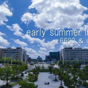 early summer in niigata / sony α6600 PP10 & DJI osmo action timelapse / ムービータイムラプス新潟 / movie vol.17