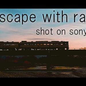 sony a6600 selp18105G × weebill s / Landscape with railway in niigata / 鉄道のある風景新潟 / movie vol.21