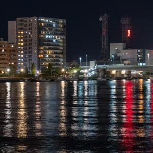Night shot in niigata bandai city with sony a6600 & selp18105g / 新潟市万代夜景スナップ / photolog vol.11