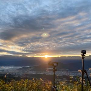 sea of clouds at muikamachi niigata /  雲海撮影 新潟県南魚沼市 六日町展望台 / photolog vol.15