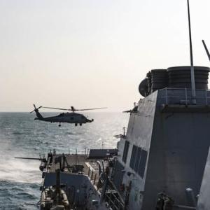 航行の自由作戦台湾海峡を航行 グァムからは戦略爆撃機も