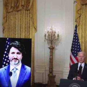 米国とカナダ首脳がビデオ会談 バイデン大統領は中国に拘束されている2名のカナダ人の救出を約束