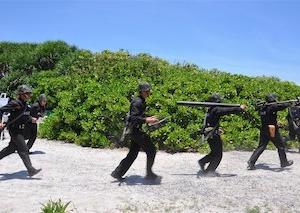台湾軍が東沙諸島で実弾射撃訓練実施 連日の中国軍用機の台湾空域侵入への牽制