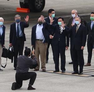 米バイデン政権非公式代表団を台湾に派遣 総統と会談へ
