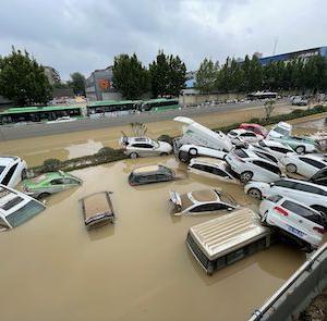 蔡英文台湾総統、河南省の豪雨被災者を見舞う 中台両岸関係の緩和を意図か