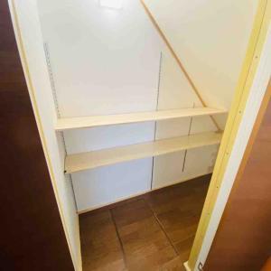 階段下収納DIY -棚受け設置・材料費編-