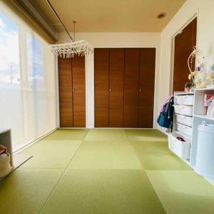 WEB内覧会-和室と見せかけての洋室畳敷き-