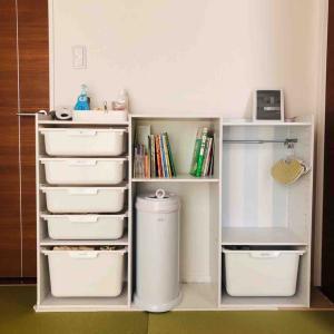 整理収納 -ニトリでお安く可愛いマルチ収納が叶う!子供服の収納におすすめ-