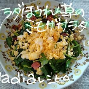 fireworks🎆🌌😃ほうれん草のミモザサラダ.サーモン和風カルパッチョ.食パン焼き