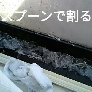解熱風邪🐻🤒🌁しばれる寒さ!氷割り💦火曜水曜日の晩御飯