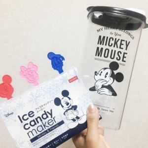 【メルカリ】で感激!【ダイソー】ディズニー麦茶入れとアイスキャンディーメーカー♡