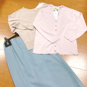 【楽天購入品】お得なSALE品★ニットとタイトスカート
